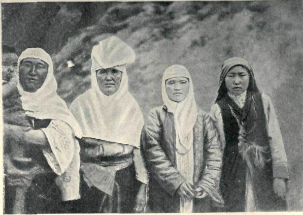 Кыргызские женщины