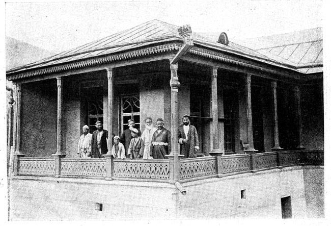 Дом торговца в узбекском кишлаке Хумсан
