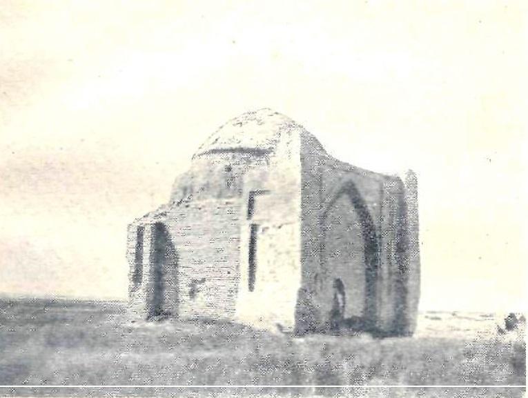 Надгробное сооружение в Чиликском районе (Казахстан)