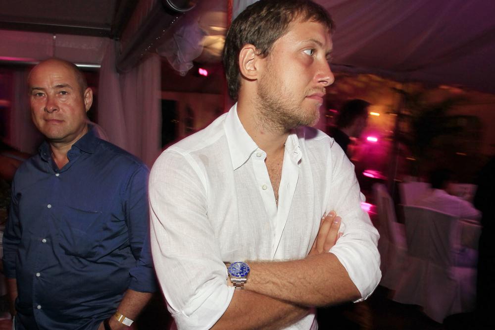 Антон Зингаревич (справа) и Борис Зингаревич. РИА Новости