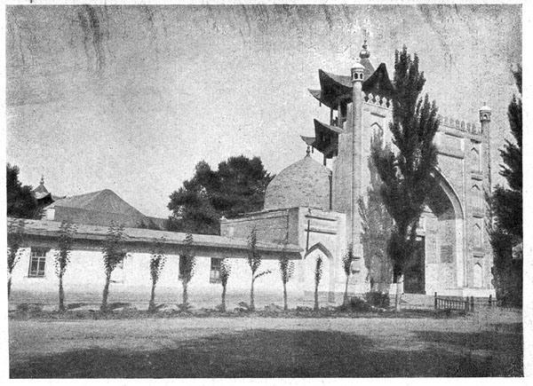 Мечеть в Жаркенте