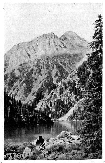 Иссык-Куль (скорее всего, автор имел в виду озеро Иссык в Казахстане)