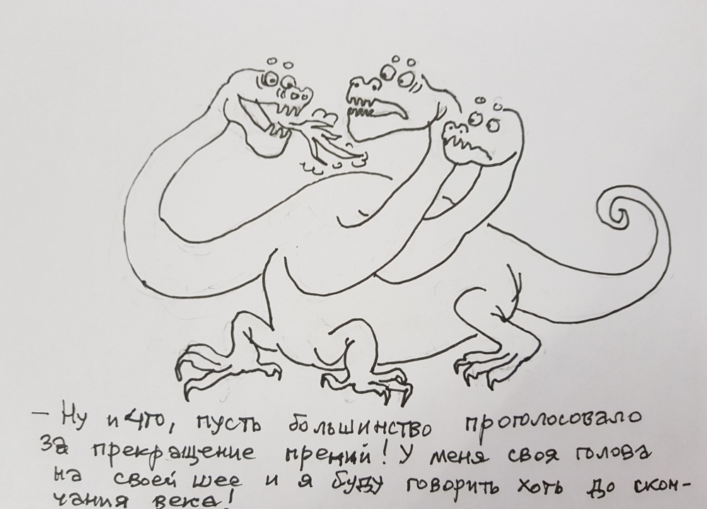 Наша жизнь в 5 000 карикатурах Эмиля Шукурова. Здесь - самые говорящие
