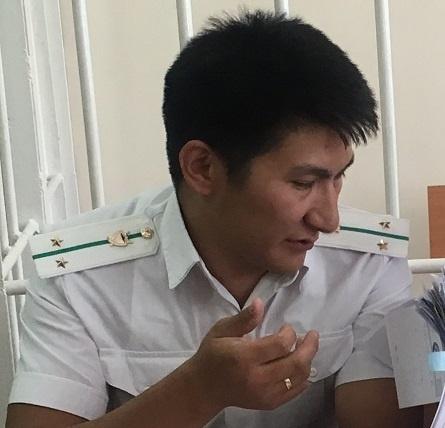 Представитель Индиры Джолдубаевой Руслан Абдырахман