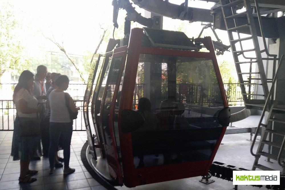 Фуникулер на гору Кок-Тобе в Алматы