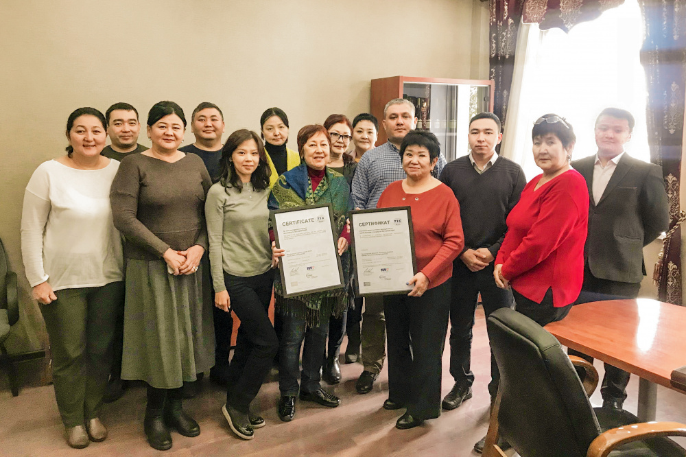 Как коньячный завод Кыргызстана получил Европейский стандарт качества