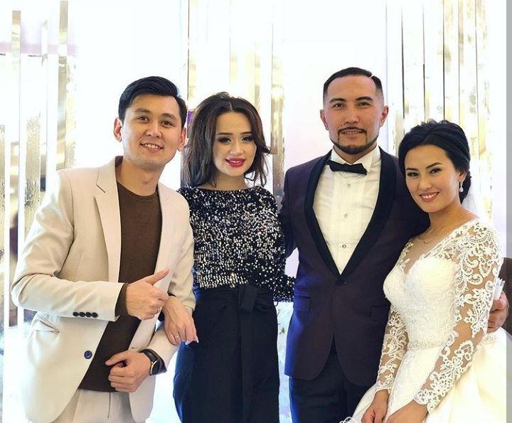 Прошла свадьба певца Курала Чокоева и его избранницы Жанары. Фото