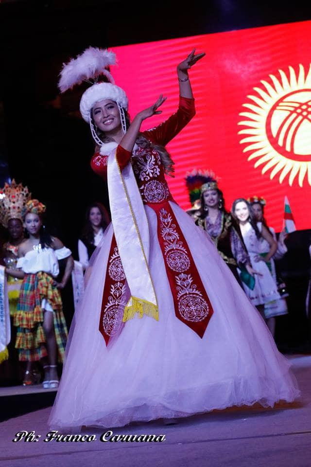 Кыргызстанка заняла 2-е место в номинации