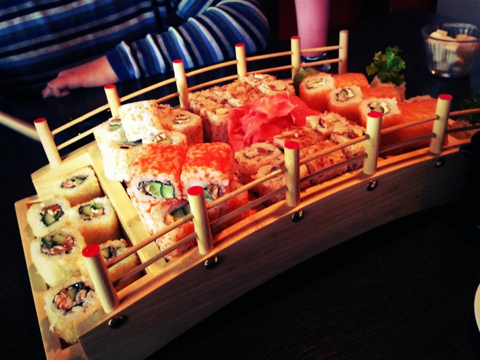 #полезно: где заказать суши и роллы в Бишкеке. Телефоны, цены