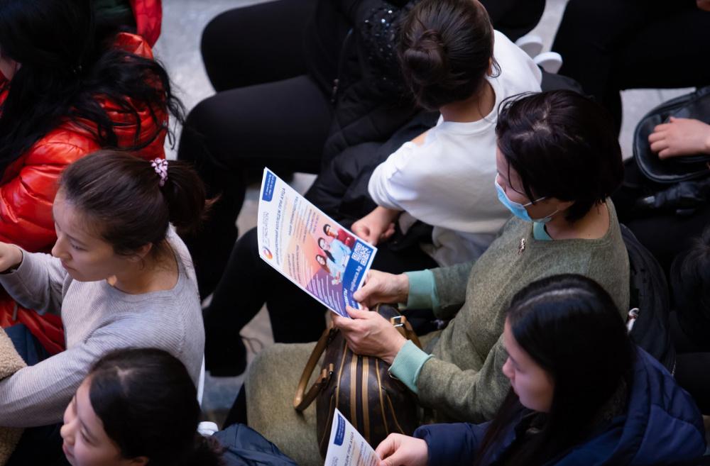 Инновационный колледж при АУЦА провел свой первый День открытых дверей [Фото]