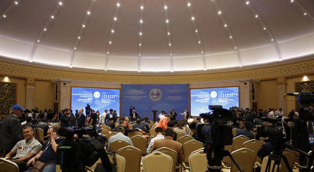Саммит ШОС освещают более 500 иностранных и местных журналистов