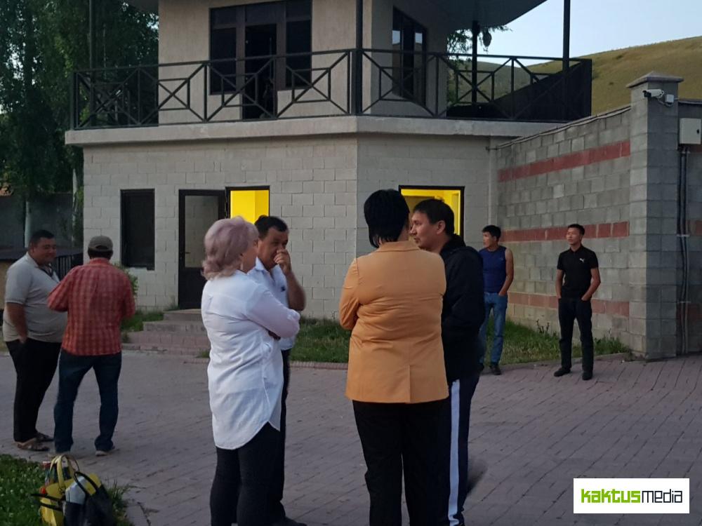 Что происходит в доме Атамбаева в Кой-Таше? Фото и видео