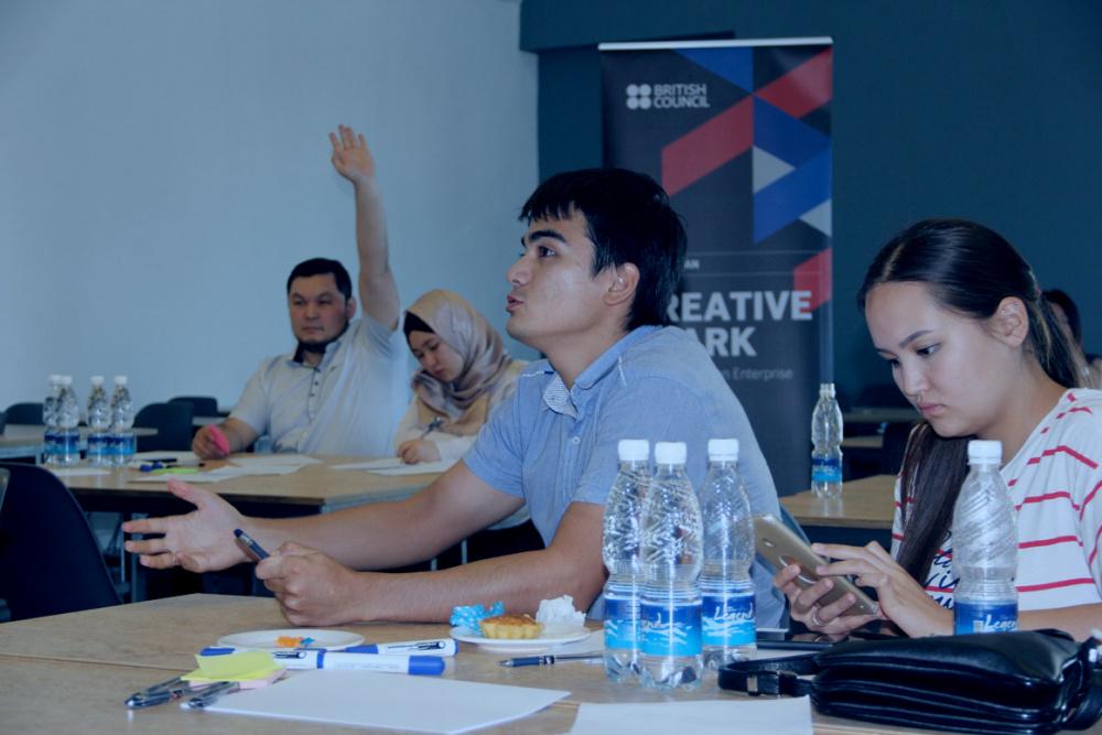 """Британский опыт креативного бизнеса """"драйвит""""  предпринимательские проекты молодежи КР"""