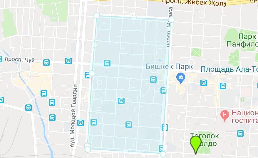 Завтра центральная часть Бишкека останется без воды. Карта