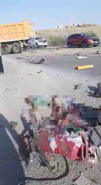 Трое детей и двое взрослых погибли в жутком ДТП на трассе Алматы - Бишкек