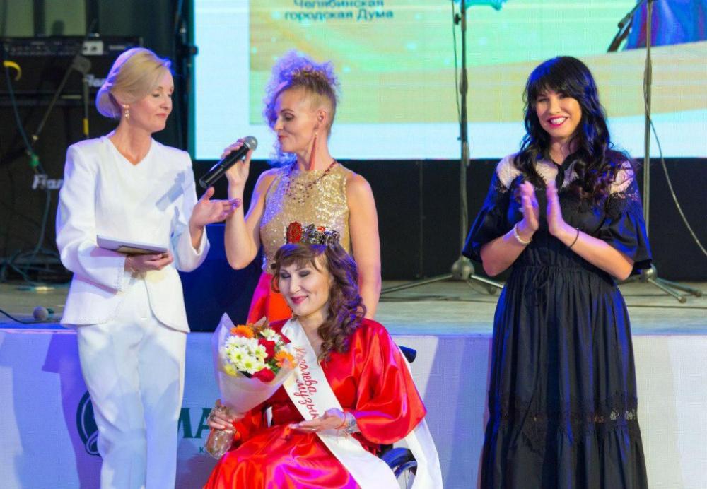 В  Челябинске кыргызстанка поучаствовала в конкурсе красоты для девушек с ОВЗ. Фото