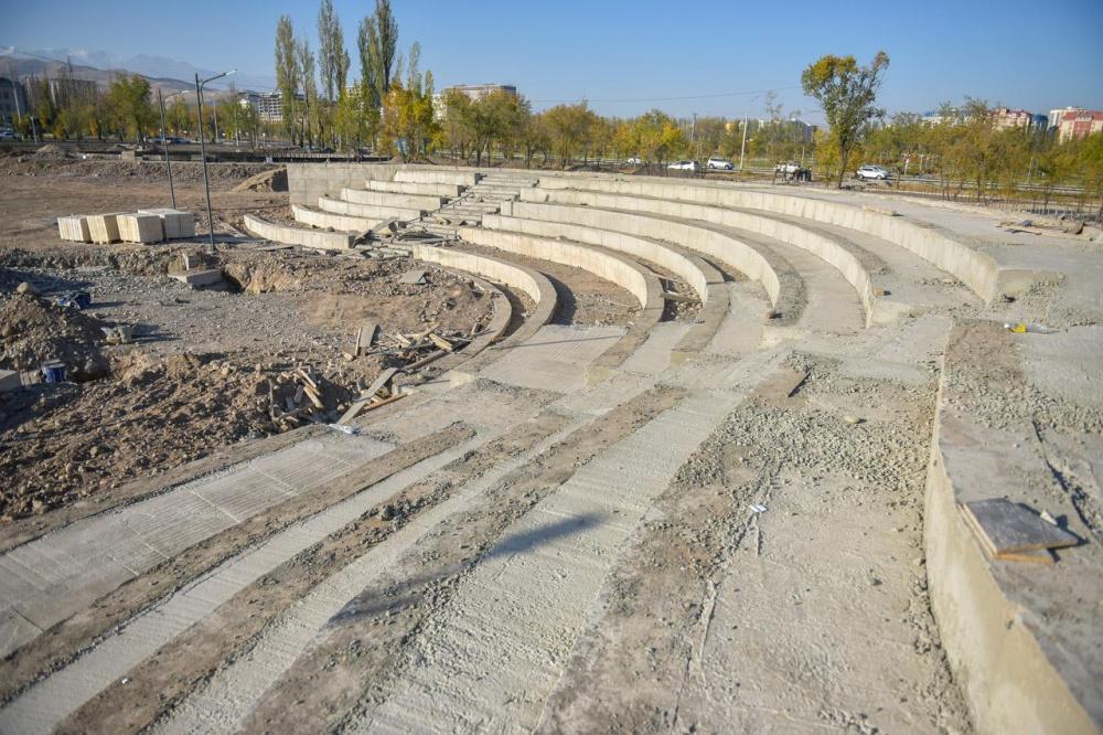 Вице-мэр Абдылдаев: Люди уходят и приходят, а парки остаются