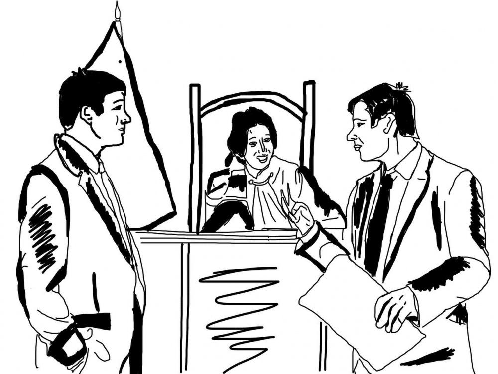 """""""Закрепленные прокуроры"""". В судах Бишкека создали удобства для судей, забыв про подсудимых"""