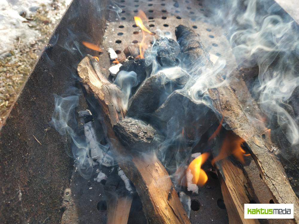 Эксперимент Kaktus.media. Насколько разный уголь загрязняет воздух при сжигании (видео)