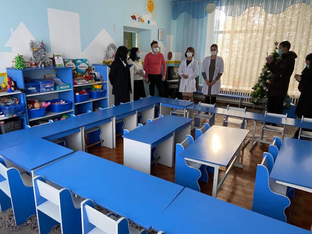 В муниципальных детсадах в Бишкеке начнут работать только подготовительные группы