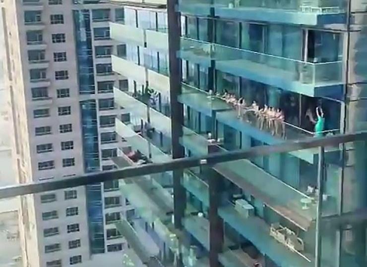 В Дубае за съемку в обнаженном виде задержаны 8 граждан РФ +18 ВИДЕО