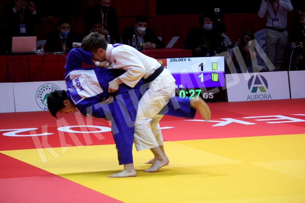 Кыргызстанец Владимир Золоев стал чемпионом Азии и Океании по дзюдо